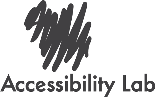 Accessibility Lab Logo Negro